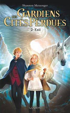 Amazon.fr - Gardiens des cités perdues - tome 2 - Exil - Shannon Messenger, Mathilde Bouhon - Livres