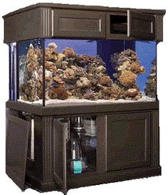 Marineland Deep Dimension Tank with Monterey Stand and Canopy