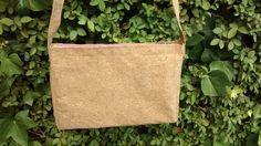 Bolso handmade con tela de corcho