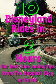 Disneyland Rides in 2 Hours