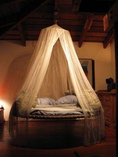 15 Hermosos Diseños De Camas Colgantes Para El Dormitorio