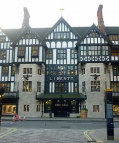 """""""Liberty, just off Regent Street and full of expensive things. I will probably never buy anything in this building but it's very pretty. London Shopping, London Travel, Uniqlo, Regent Street, London Lifestyle, Lifestyle Fashion, Topshop, Greater London, Liberty Fabric"""