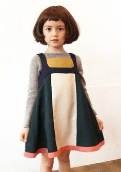 Adorable child this!love the dress too.