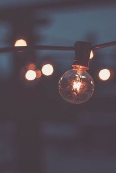 Pretty Light bulb wallpaper