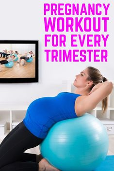 Great pregnancy workout for every and any trimester, all safe. - Great pregnancy workout for every and any trimester, all safe. Pregnancy Leg Workouts, Prenatal Workout, Prenatal Yoga, Trimesters Of Pregnancy, Pregnancy Tips, Pregnancy Health, Pregnancy Nutrition, Pregnancy Fitness, Pränatales Training
