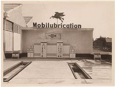 Mobilubrication pit, Penrith, c. 1930s, by Sam Hood | Flickr - Photo Sharing!
