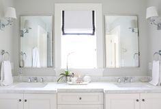Studio McGee's bright bathroom design - eastmeetssouthblog.blogspot.com