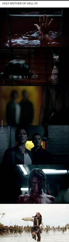 I was not expecting her when this scene happened!