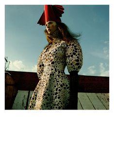 Kendra Spears Puts on Her Armor for i-D's Winter Issue, Lensed by Greg Kadel