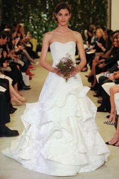 Carolina Herrera Collection New York Bridal Market 2016 (BridesMagazine.co.uk)