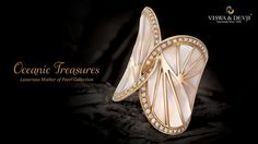 VDFB-1291 Enthralling hearts with an astonishing timeless design ‪#‎OceanicTreasures‬ ‪#‎Ring‬ ‪#‎Diamond‬ ‪#‎jewellery‬ http://www.viswadevji.in/blog.php