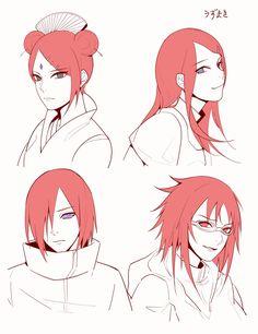 Uzumaki Clan ~ Mito, Nagato, Kushina and Karin Anime Naruto, Naruto Shippuden Sasuke, Naruto Girls, Sasunaru, Naruhina, Kakashi, Hinata, Karin Naruto, Karin Uzumaki