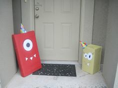 """Monster Party guest """"greeters"""""""