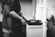 Séance engagement à la maison. Photo : Jean-Laurent Gaudy