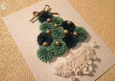 insieme creare: Come fare l'albero di Natale con i nastri