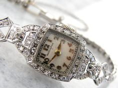 Hey, I found this really awesome Etsy listing at https://www.etsy.com/listing/180669126/ladies-hamilton-wrist-watch-antique-art