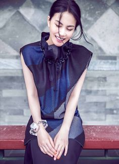 Faye Wong by Chen Man for Elle China October 2014 [Fashion]
