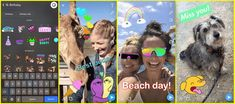 Snapchat introduces GIF stickers tabs for Friends and Discover screens