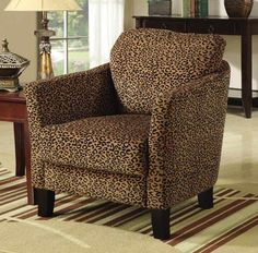 Reading or changing chair in a bedroom, perhaps? I want to have bold accent pieces in neutral or pop colors.