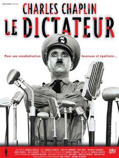 Le Dictateur est un film de Charles Chaplin avec Charles Chaplin, Jack Oakie. Synopsis : Dans le ghetto juif vit un petit barbier qui ressemble énormément à Adenoid Hynkel, le dictateur de Tomania qui a décidé l'extermination du peuple jui