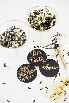 New Year's Eve Inspiration: Cue the Confetti!