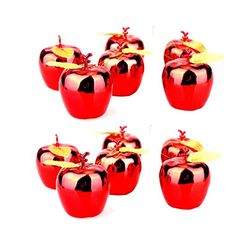 YJ Fashion Goldplated Lovely Exquisite Carnival Christmas Apple Decoration >>> More info could be found at the image url.