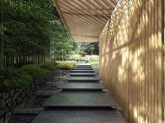 ポートランド日本庭園  Portland Japanese garden  Kengo Kuma