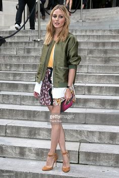 Fotografia de notícias : Olivia Palermo arrives at the Giambattista Valli...