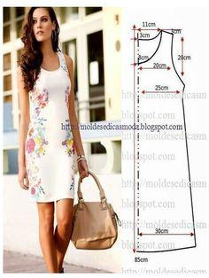 Sewing Summer Dresses, Summer Dress Patterns, Dress Sewing Patterns, Trendy Dresses, Simple Dresses, Clothing Patterns, Nice Dresses, Dresses For Work, Pattern Sewing