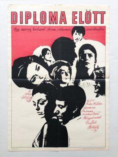 The Graduate Dustin Hoffman Original Hungarian Vintage Movie Poster 1970 | eBay