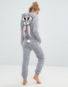 Find the best selection of Undiz Buguiz Bugs Bunny Onesie. Shop today with free delivery and returns (Ts&Cs apply) with ASOS! Onesie Pajamas, Cute Pajamas, Pajamas Women, Pyjamas, Lazy Day Outfits, Casual Outfits, Cute Outfits, Bugs Bunny, Teen Fashion Outfits