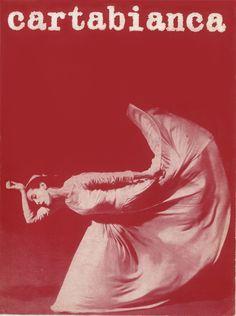 #Cartabianca, 1969 In copertina, Marta Graham