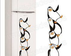 adesivo geladeira pinguim madagascar 15
