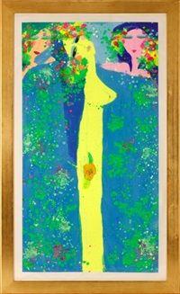 Flower & Women par Walasse Ting