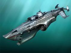 military+submarine+by+DaniilKuksov.deviantart.com+on+@DeviantArt