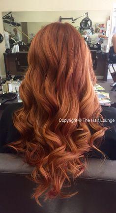 Autumn copper red tones Autumn copper … - All For Simple Hair Auburn Balayage, Balayage Hair, Hair Color And Cut, Brown Hair Colors, Copper Hair, Copper Red, Auburn Hair Copper, Auburn Hair Dye, Ginger Hair