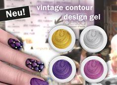 vintage contour design gel - abc nailstore