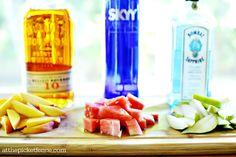 Fruit infused liquor