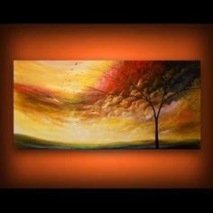 art abstract painting acrylic painting original by mattsart