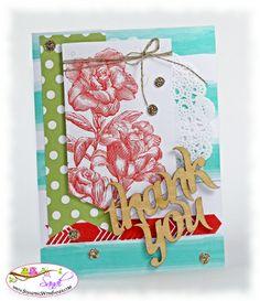 Heartfelt banner kit canvas on a card