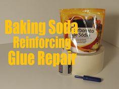 DIY sugru substitute - super glue and baking soda in a pinch