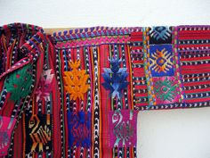 Women- and girlsblouse, detail, Solola, Guatemala, 1990