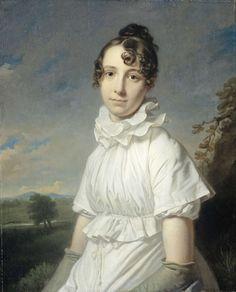 Emma Jane Hodges (1789-1868), dochter van de schilder, Charles Howard Hodges, ca. 1810 (https://www.rijksmuseum.nl)