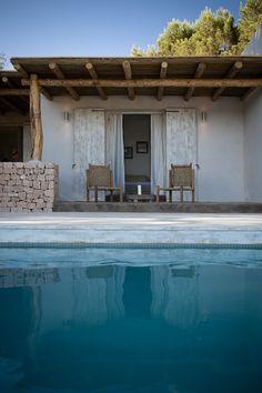 Pool in Formentera. Pinned to Pool Design by Darin Bradbury of BASK Pool Design