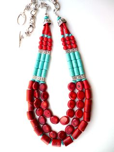 Turquoise bead necklaces - polyvore, Shop the latest turquoise bead necklaces on the world's largest fashion site. Description from darkbrownhairs.org. I searched for this on bing.com/images