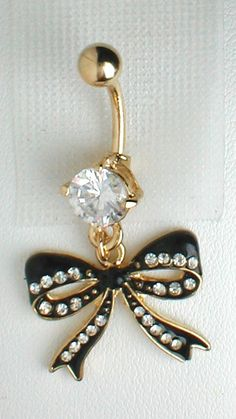 belly-ring-betsey-johnson-bow