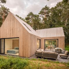 Design holiday home Tonden - Special Place Modern Architecture House, Architecture Design, Rustic Exterior, Rustic Cottage, Inside Design, House Windows, House Layouts, Home Fashion, Tiny House