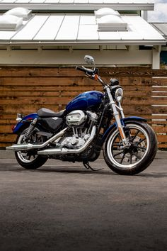 The smooth ride, comfortable cruising position and easy handling get even better with an all-new suspension and seat. The ride that starts here may never end. | 2016 Harley-Davidson SuperLow