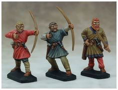 "Archers ""Ages Sombres""                                                                                                                                                                                                                                                           30 figurines en plastique à monter et à peindre Archers, Gripping Beast, Painting, Art, Plastic, Art Background, Painting Art, Kunst, Paintings"