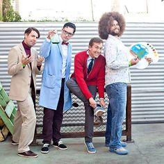 Carl Sagan, Bill Nye the Science Guy, Mister Rogers, Bob Ross